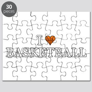 I Love Basketball Puzzle