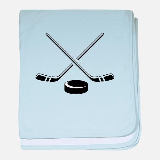 Hockey Sticks baby blanket
