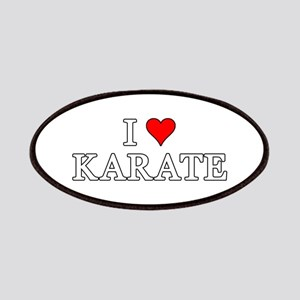 I Love Karate Patches