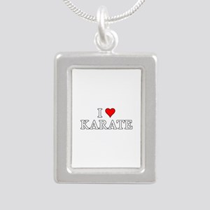 I Love Karate Necklaces