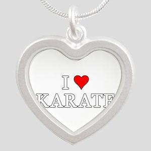 I Love Karate Necklaces