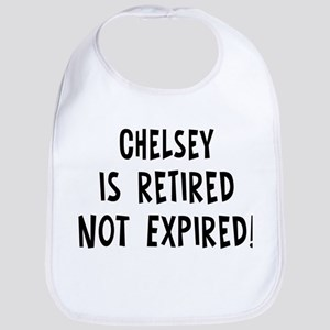 Chelsey: retired not expired Bib