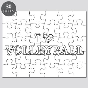 I Love Volleyball Puzzle