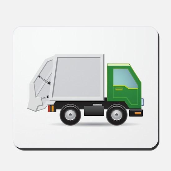 Garbage Truck Mousepad