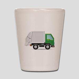 Garbage Truck Shot Glass