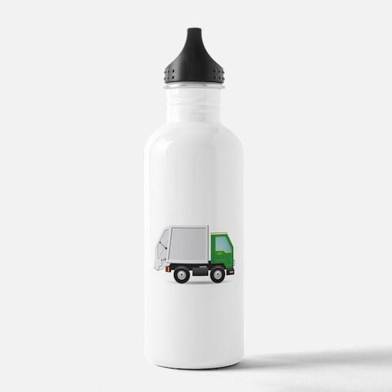 Garbage Truck Water Bottle