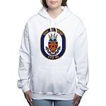 USS DE WERT Women's Hooded Sweatshirt