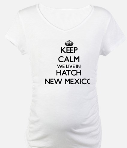 Keep calm we live in Hatch New M Shirt