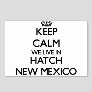 Keep calm we live in Hatc Postcards (Package of 8)