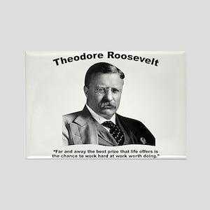 TRoosevelt: Work Rectangle Magnet
