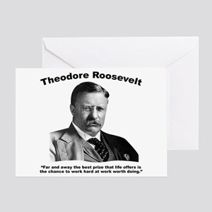 TRoosevelt: Work Greeting Card