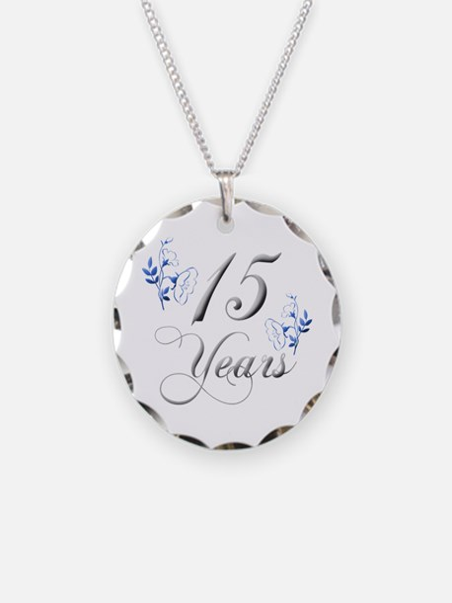 15th Wedding Anniversary Necklace