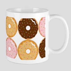 Frosted Donut Pattern Mug