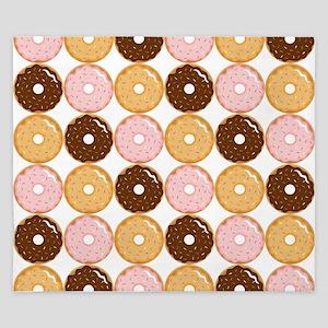 Frosted Donut Pattern King Duvet