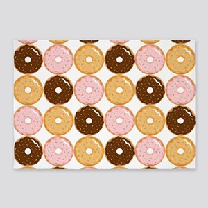 Frosted Donut Pattern 5'x7'Area Rug