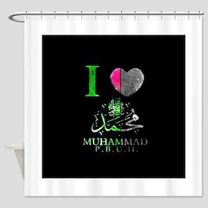 I love My Prophet Shower Curtain