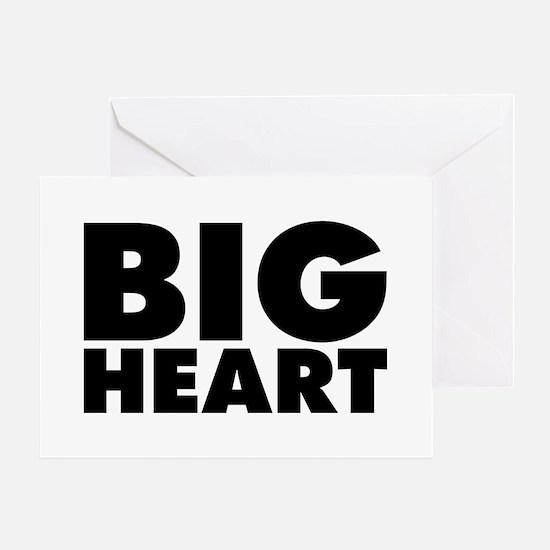 Big Heart Greeting Card