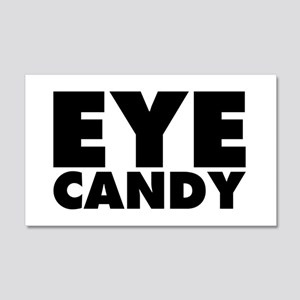Eye Candy 20x12 Wall Decal