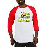 I Brake For Rainbows Baseball Jersey