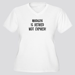 Madalyn: retired not expired Women's Plus Size V-N