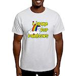 I Brake For Rainbows Light T-Shirt
