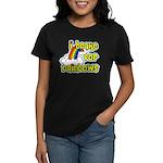 I Brake For Rainbows Women's Dark T-Shirt