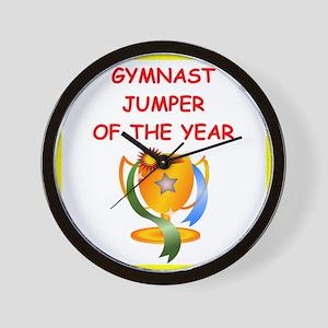 gymnast Wall Clock