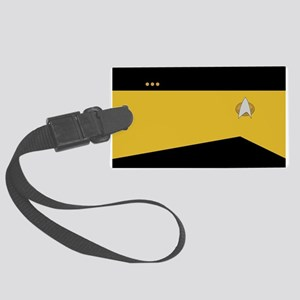 STARTREK 2360 OPS CMDR Large Luggage Tag