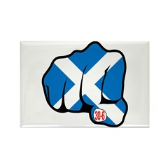 Scotland 30-6 Rectangle Magnet (10 pack)