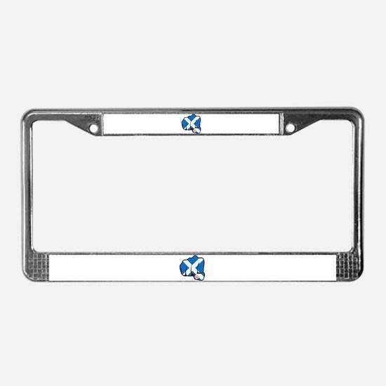 Scotland 30-6 License Plate Frame