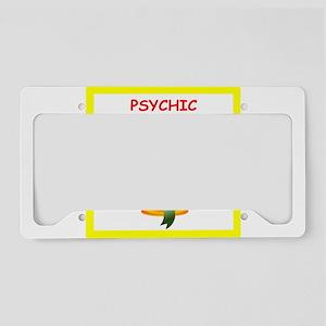 psychic License Plate Holder