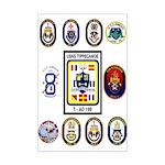 USS Jacksonville Custom Mini Poster Print