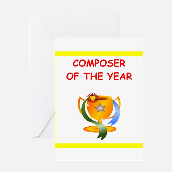 composer Greeting Cards
