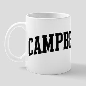 CAMPBELL (curve-black) Mug