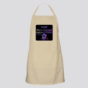 Smile! You've just met a proud witch! Apron