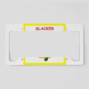 slacker License Plate Holder