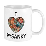 I love Pysanky 1 Mug