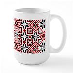 Folk Design 8 Large Mug