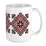 Folk Design 7 Large Mug