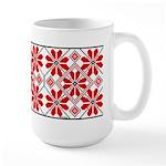 Folk Design 6 Large Mug