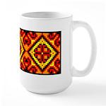 Folk Design 5 Large Mug
