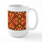 Folk Design 4 Large Mug