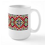 Folk Design 1 Large Mug