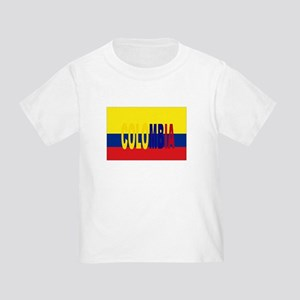 COLOMBIA FLAG WITH NAME T-Shirt