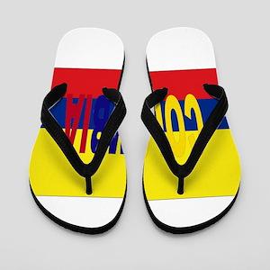 7d9c4ce4b South America Soccer Flip Flops - CafePress