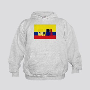 COLOMBIA FLAG WITH NAME Hoodie
