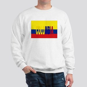 COLOMBIA FLAG WITH NAME Jumper