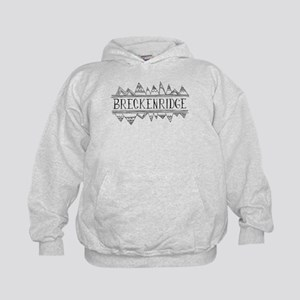 Breckenridge Mountains Kids Hoodie