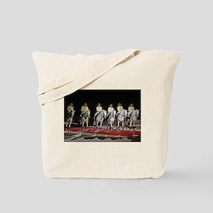 Lipizzaner Troupe Tote Bag