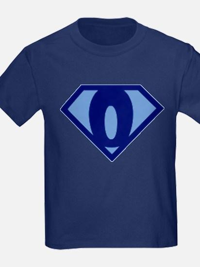 Super Hero Letter O T-Shirt